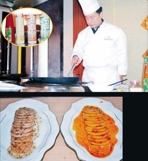 部分餐馆用化学色素调出鲜亮菜肴