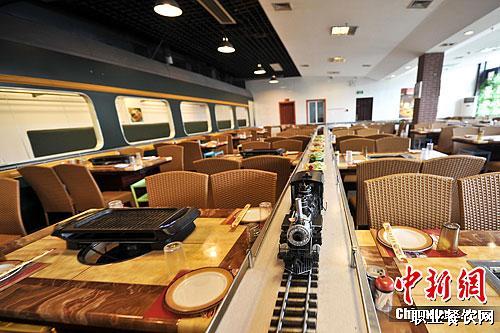 火车主题餐厅亮相南宁