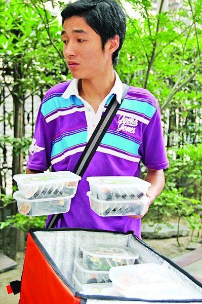 """餐饮外送有""""风险""""70份紫菜包饭送到楼下无人领"""