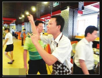 火锅店6成服务员是聋哑人