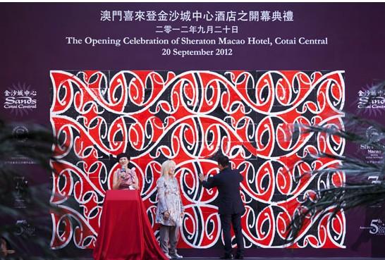 喜达屋集团旗下全球最大的旗舰店在澳门金沙城中心正式开业