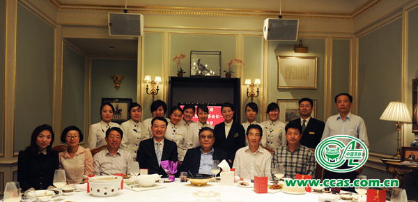 """苏秋成会长调研""""北京宴""""大酒楼优质服务与转型升级"""