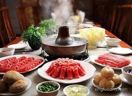 老北京的铜火锅