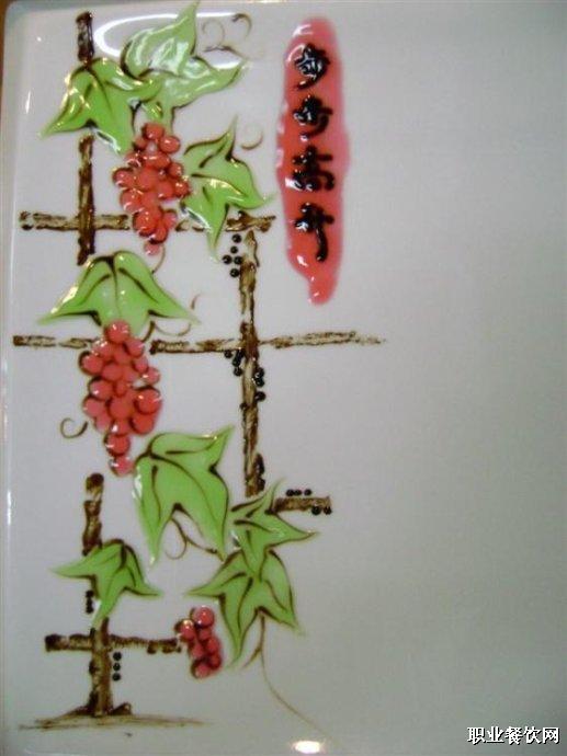 果酱画花朵步骤