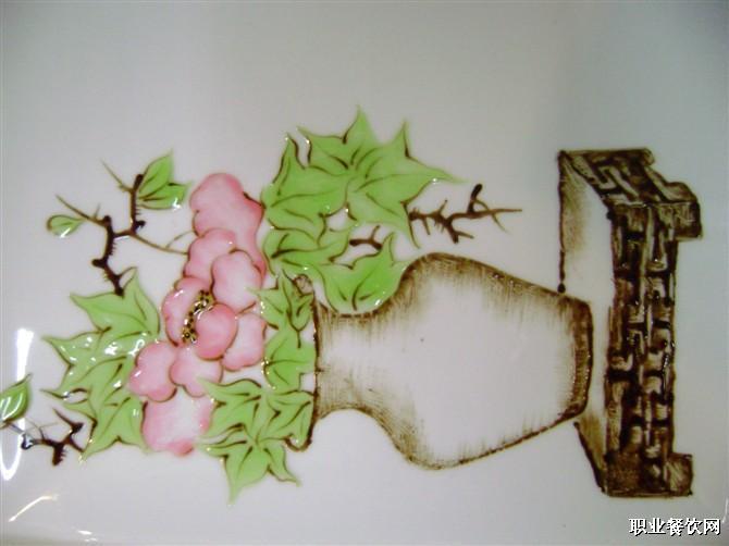 线条果酱画盘饰图片_果酱盘饰简单线条内容|果酱盘饰简单线条图片