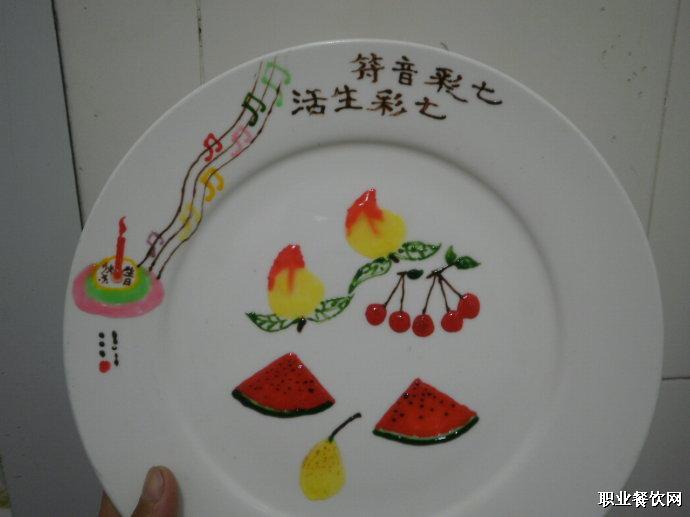 果酱盘饰图片简单果酱画盘饰图片热菜盘饰围边图片