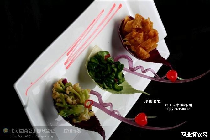冷菜盘式装饰图片凉菜盘式围边点缀装盘图片冷菜图片