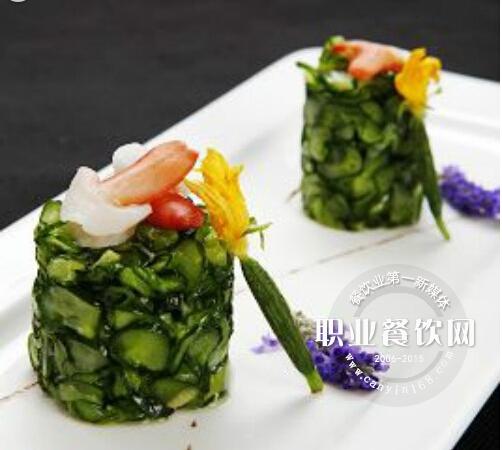 兰花蚌拌脆黄瓜
