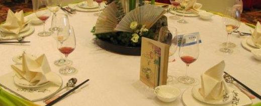 摆台--中餐摆台-西餐摆台-宴会摆台图片