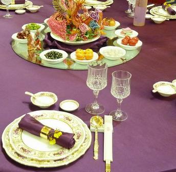 婚宴台面设计