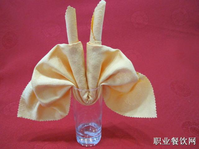 餐巾折花杯花10例