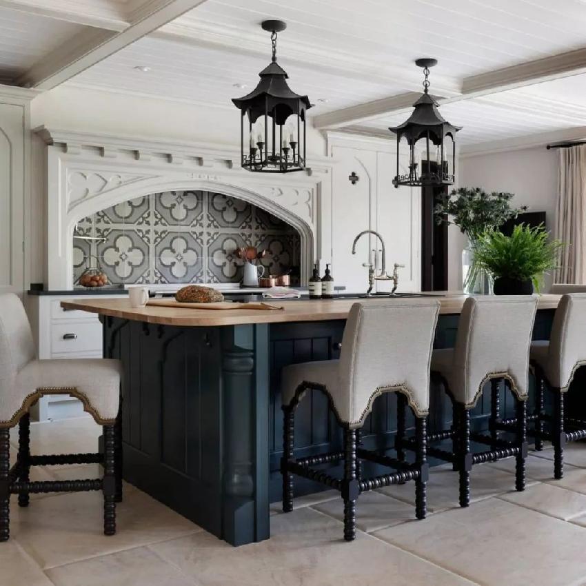 职业餐饮网 餐饮管理 餐饮设计 厨房设计 >>正文   中岛,一个空间的