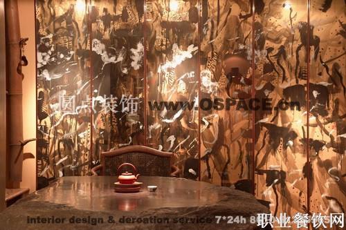 三居室 100㎡ 其它装修效果图 中式茶馆设计