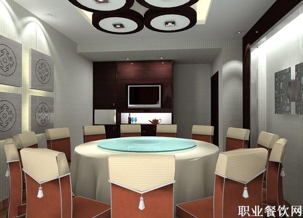 饭店包厢装修效果图-设计案例-职业餐饮网