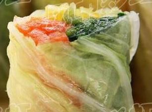 碧玉白菜卷的做法