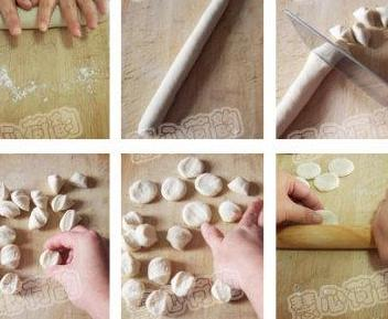 饺子皮的做法图解