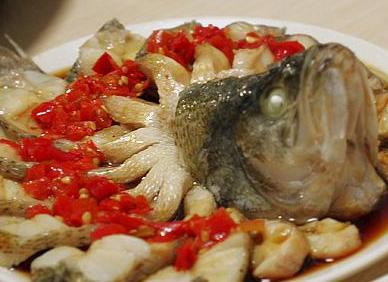 剁椒开屏鱼的做法