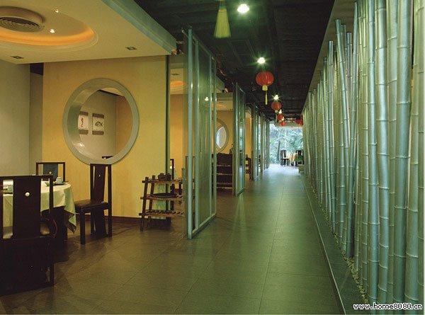 岭南风餐厅效果图设计欣赏_中式餐厅装修_职业餐饮网