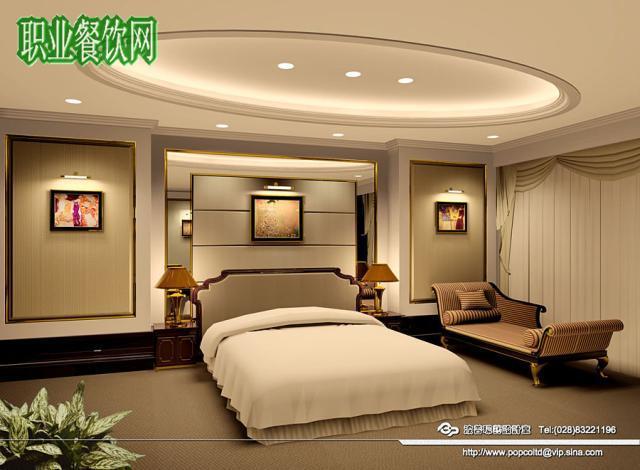 20平方米套房主卧室装修图片效果图