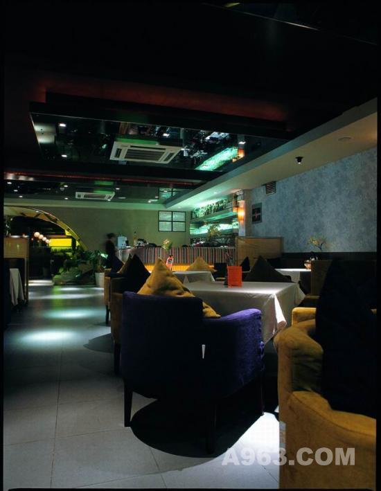 西餐厅湖贝店设计方案 西餐厅装修 -西餐厅湖贝店室内设计方案设计说