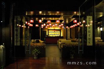 中式餐馆装修效果图