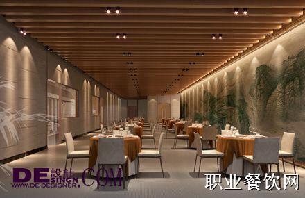 天士力一号地餐厅装修效果图