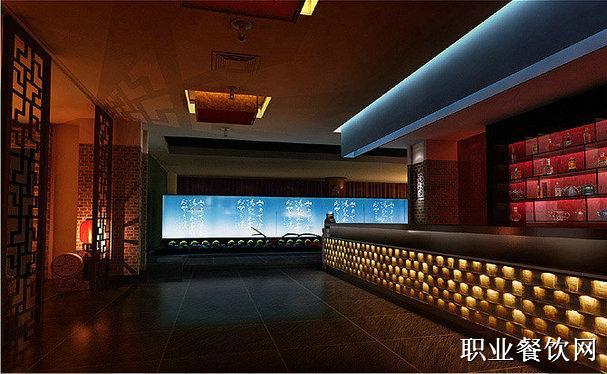 海鲜楼装修设计_中式餐厅装修_职业餐饮网