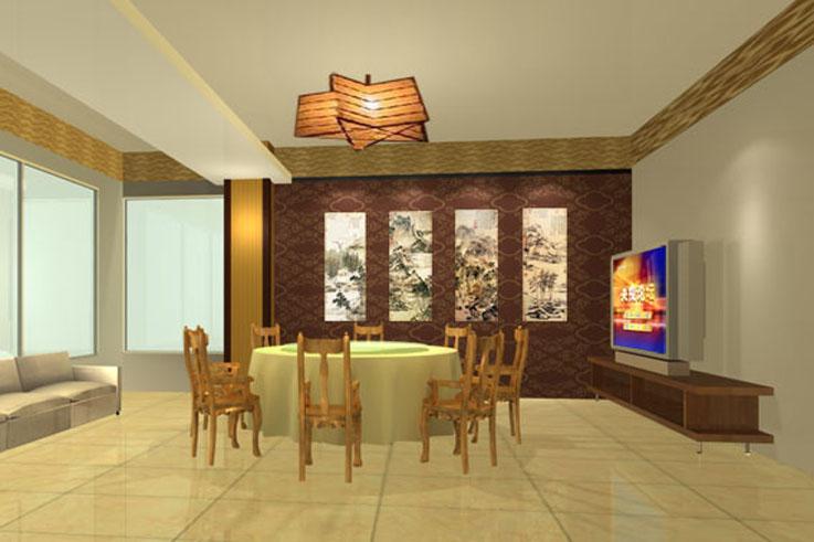 酒楼装修全套效果图 中式餐厅装修 职业餐饮