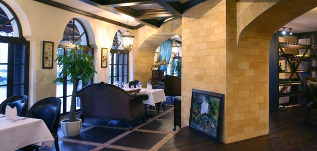 西餐厅装修设计效果图高清图片