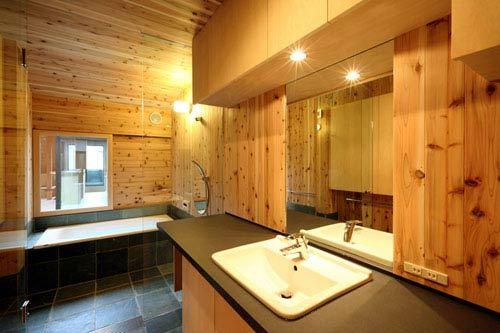 特色餐馆装修效果图 更现代更豪华:浴室
