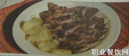 西餐礼仪图解—牛排吃法及切割法