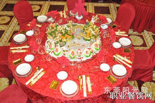中餐摆台主题图片